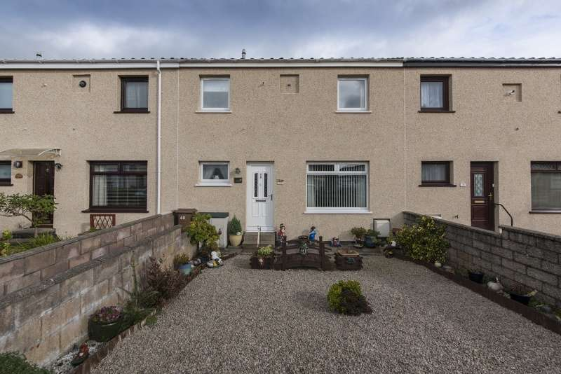 3 Bedrooms Terraced House for sale in Longview Terrace, Aberdeen, Aberdeenshire, AB16 7EZ