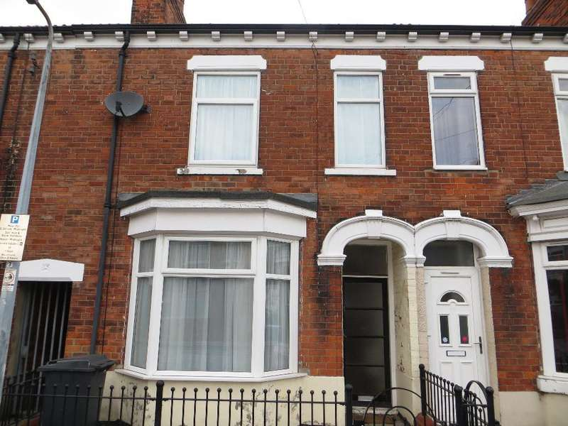 3 Bedrooms Terraced House for sale in Queensgate Street, Hull, HU3 2TT
