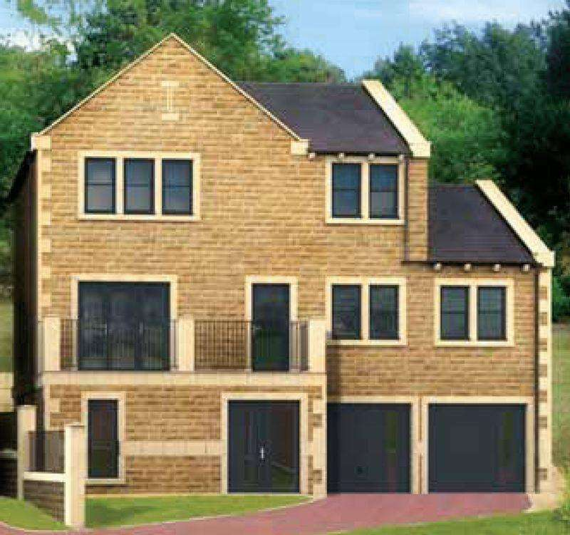 4 Bedrooms Detached House for sale in Plot 1, White Hart Fold, Ripponden HX6 4JS
