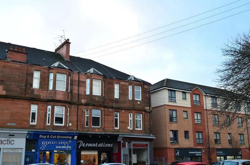1 Bedroom Flat for sale in Crow road, Flat 1/2, Anniesland, Glasgow, G13 1JF
