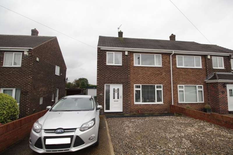 3 Bedrooms Semi Detached House for sale in Davis Avenue, Townville, Castleford, WF10
