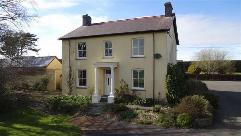 4 Bedrooms Detached House for sale in Ael Y Bryn, Llangwyryfon, Aberystwyth, Ceredigion, SY23