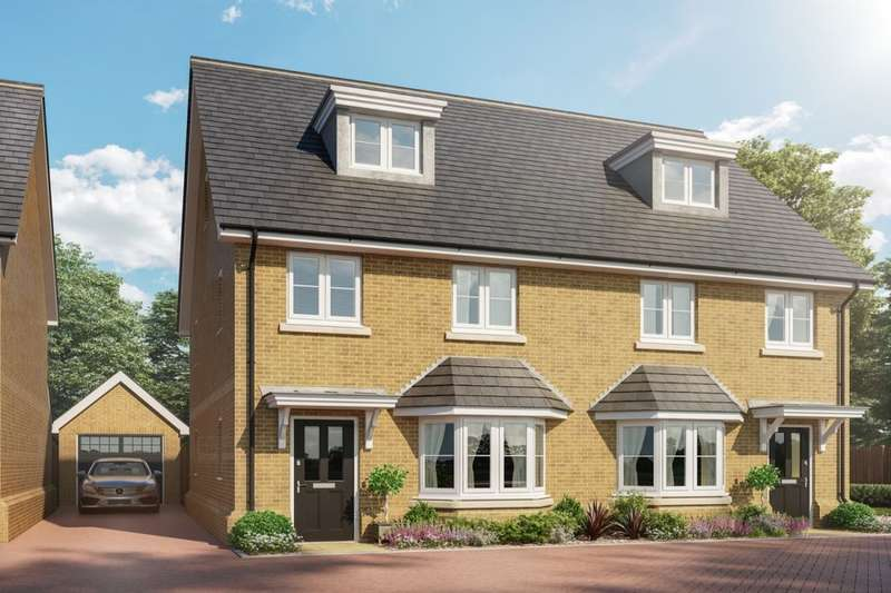4 Bedrooms Semi Detached House for sale in Talbot Street, Hitchin, SG5