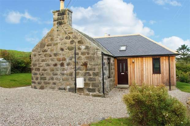 2 Bedrooms Cottage House for sale in Glenkindie, Alford, Aberdeenshire