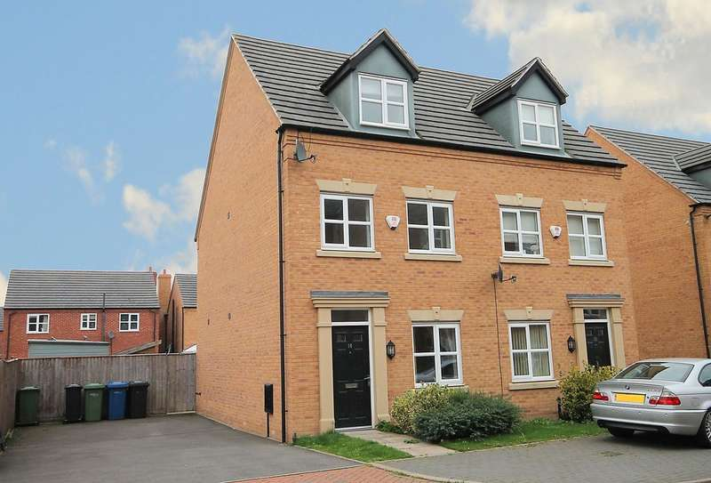 3 Bedrooms Semi Detached House for sale in Leven Road, Tamworth, B77 2TX