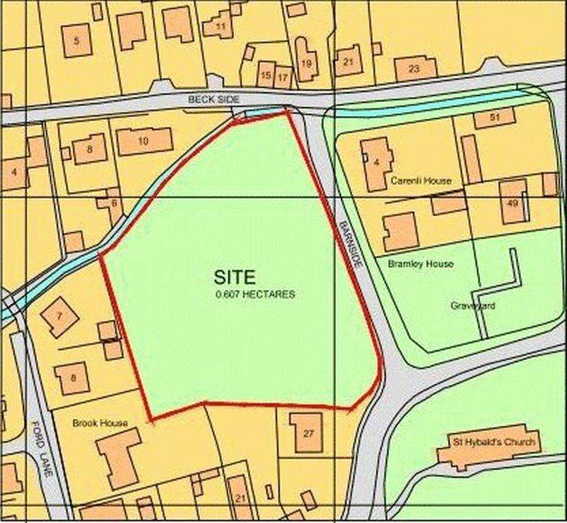 Land Commercial for sale in Church Street, Hibaldstow