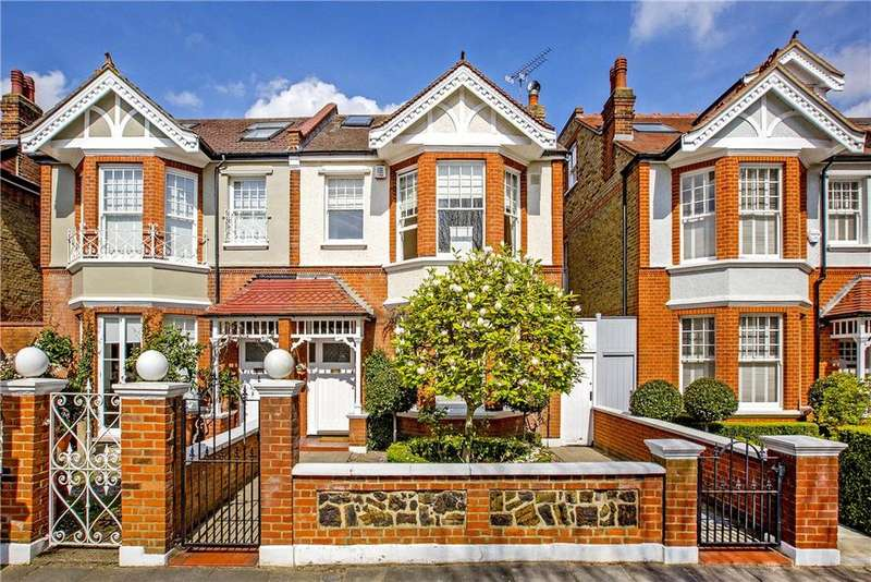 6 Bedrooms Semi Detached House for sale in Melville Road, London, SW13