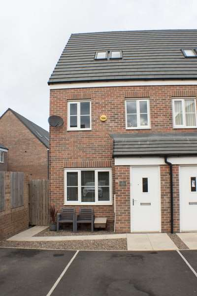3 Bedrooms Semi Detached House for sale in Admiral Court, Blyth, Northumberland, NE24
