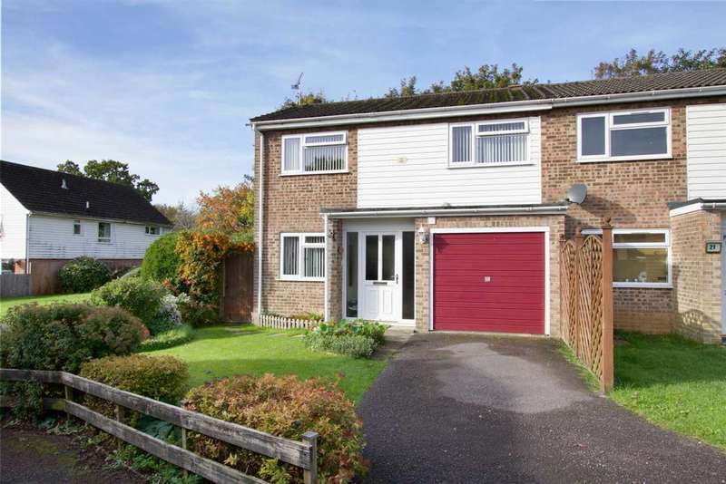 3 Bedrooms End Of Terrace House for sale in Claudius Close, Andover