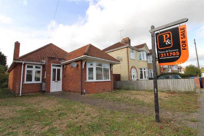 3 Bedrooms Detached Bungalow for sale in Brunswick Road, Ipswich