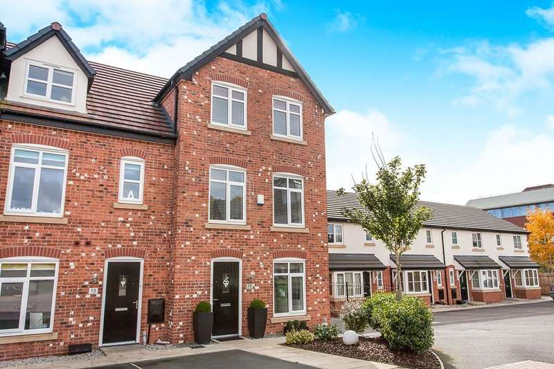 4 Bedrooms Terraced House for sale in Severn Way, Holmes Chapel, Cheshire, CW4