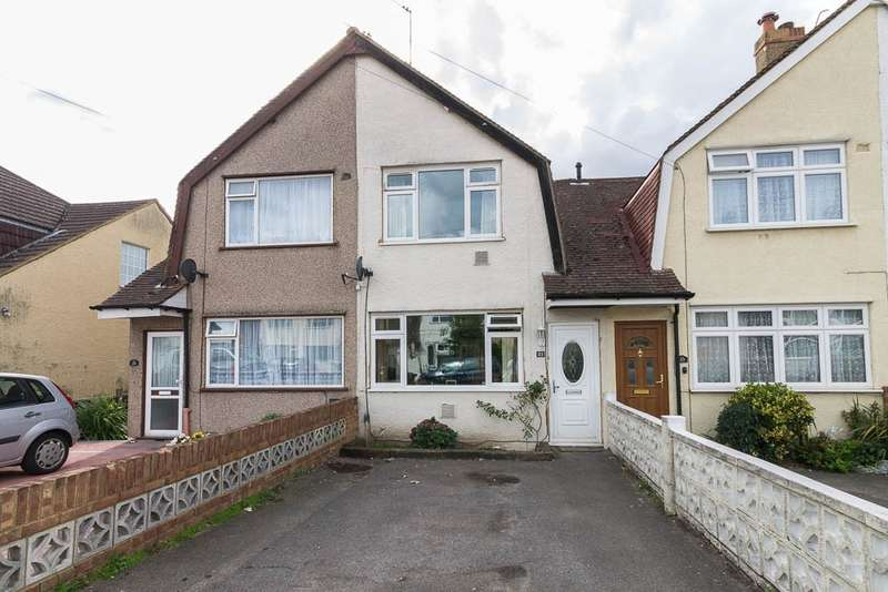 3 Bedrooms Terraced House for sale in East Road, Feltham, TW14