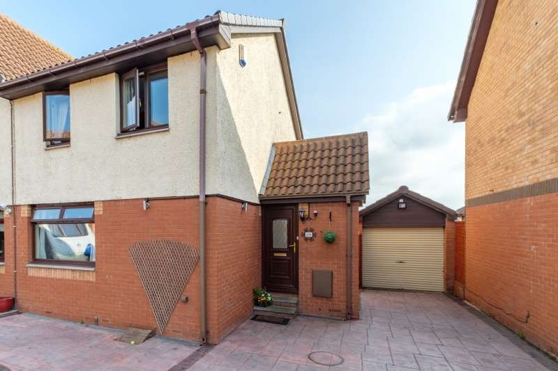 3 Bedrooms Semi Detached House for sale in Backdean Road, Danderhall, Midlothian, EH22 1RE