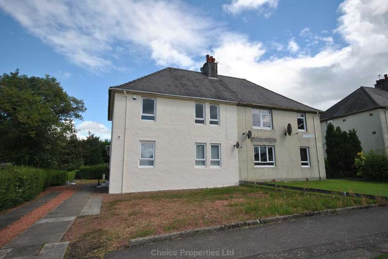 1 Bedroom Flat for sale in Culzean Crescent, Kilmarnock, KA3 7DS