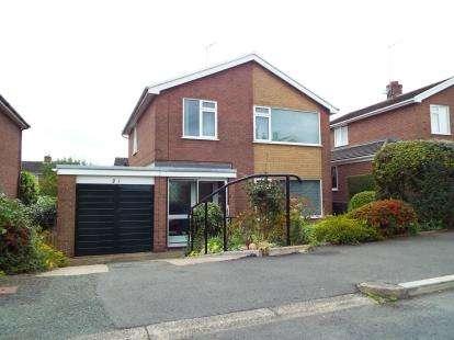 3 Bedrooms Detached House for sale in Pont Adam Crescent, Ruabon, Wrexham, LL14
