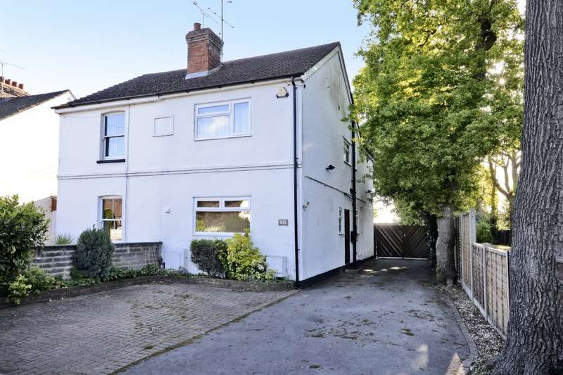 3 Bedrooms Semi Detached House for sale in Mytchett Road, Camberley