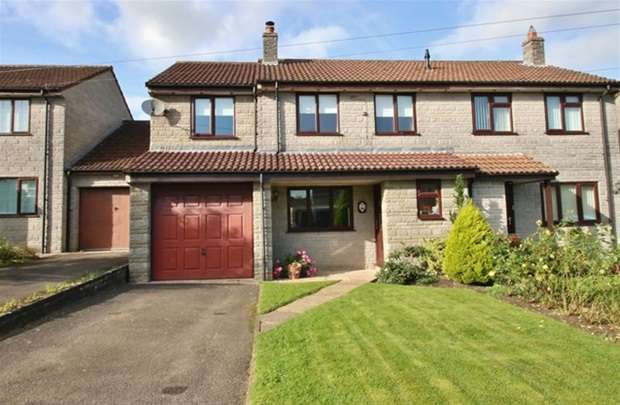 3 Bedrooms Semi Detached House for sale in Park Close, Barton St. David, Somerton