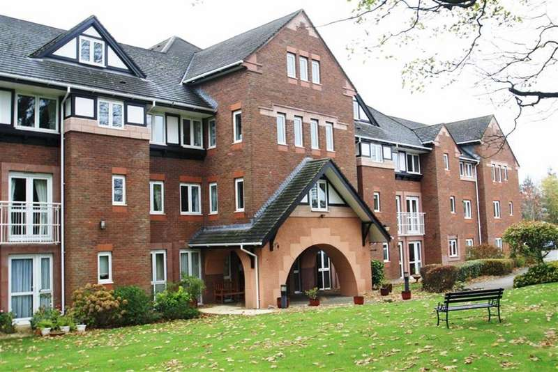 1 Bedroom Retirement Property for sale in Queen Anne Court, Macclesfield Road, Wilmslow