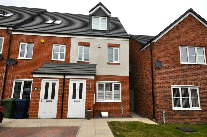 3 Bedrooms Town House for sale in Corning Road, Alexandra Park, Sunderland