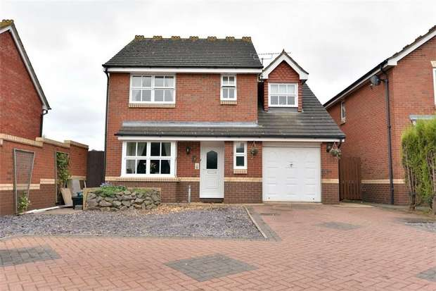 4 Bedrooms Detached House for sale in Mayfield, Wilnecote, Tamworth, Staffordshire