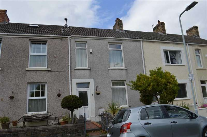 2 Bedrooms Terraced House for sale in Park View Terrace, Swansea, SA2
