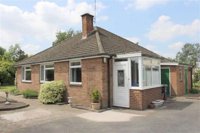 3 Bedrooms Detached Bungalow for sale in Fairwinds, Severn Road, Welshpool, Powys, SY21