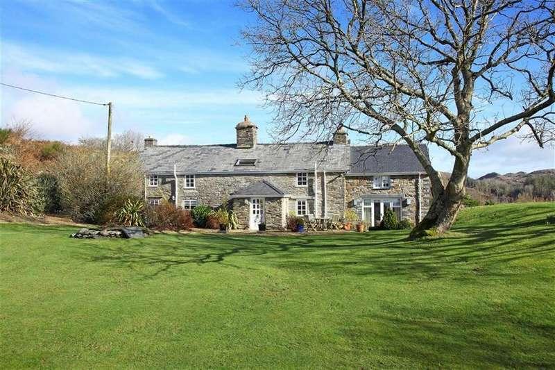 4 Bedrooms Detached House for sale in Glygyrog Wen, Aberdyfi, Gwynedd, LL35