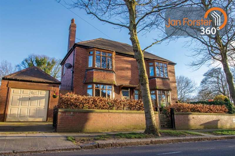 3 Bedrooms Detached House for sale in Lilburn Gardens, South Gosforth, Newcastle Upon Tyne
