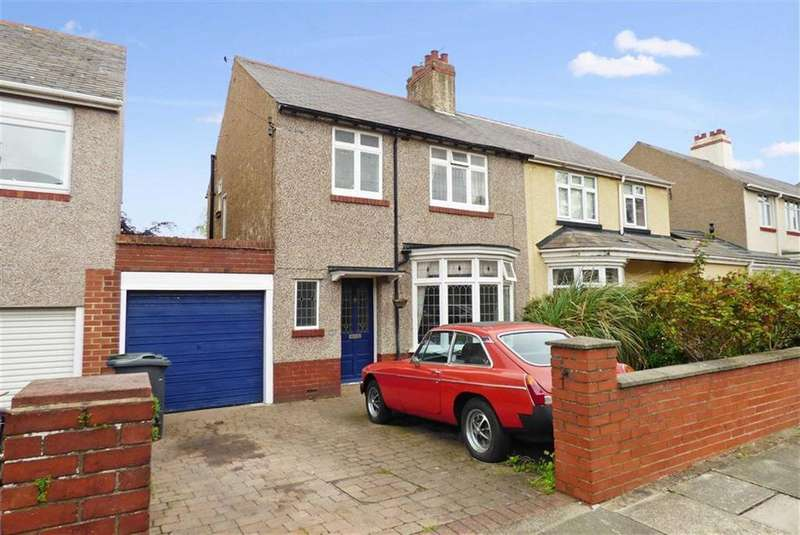 3 Bedrooms Semi Detached House for sale in Hermiston, Monkseaton