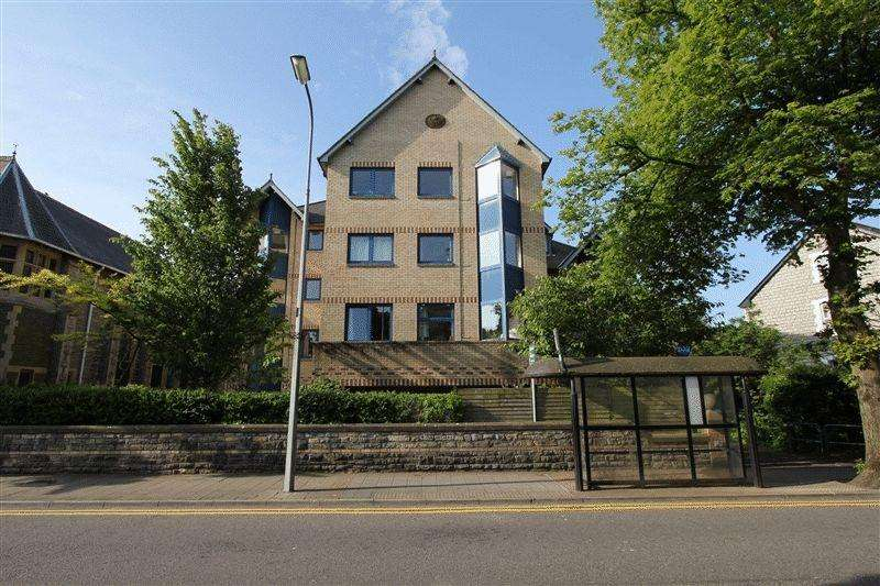 2 Bedrooms Retirement Property for sale in Penarth House, Stanwell Road, Penarth