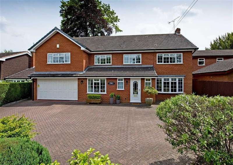 6 Bedrooms Detached House for sale in Mountfield, Histons Hill, Codsall, Wolverhampton, South Staffordshire, WV8