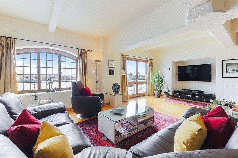 3 Bedrooms Flat for sale in New Crane Wharf, 14 New Crane Place, London, E1W
