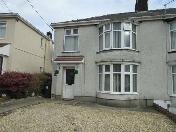3 Bedrooms Semi Detached House for sale in Compton Road, Skewen, Neath, West Glamorgan