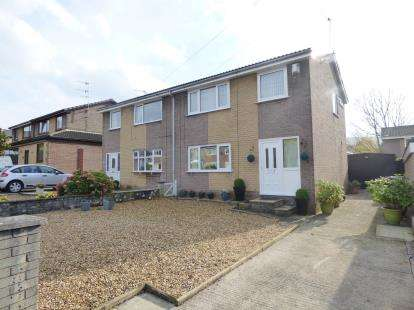 3 Bedrooms Semi Detached House for sale in Andelen Close, Hapton, Burnley, Lancashire