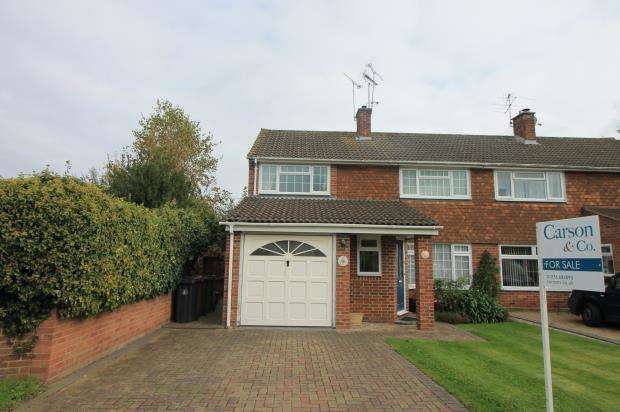 4 Bedrooms Semi Detached House for sale in Frimley, Camberley, Surrey