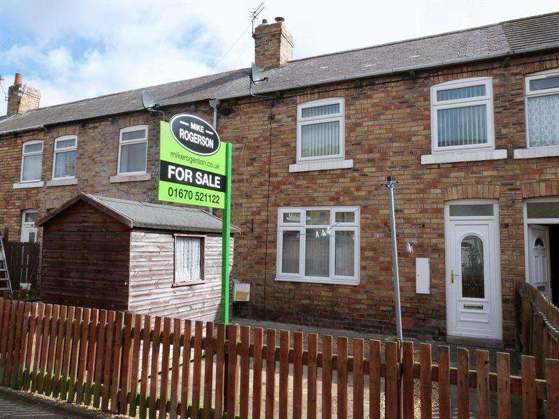 2 Bedrooms Terraced House for sale in Chestnut Street, Ashington, Two Bedroom Terraced House