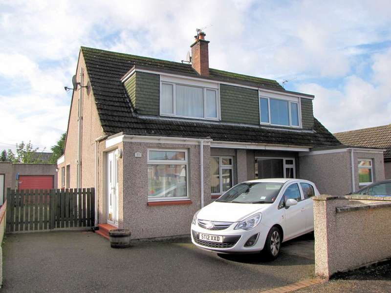 3 Bedrooms Semi Detached House for sale in NOW REDUCED 5K BELOW VALUATION Erracht Road, Inverness