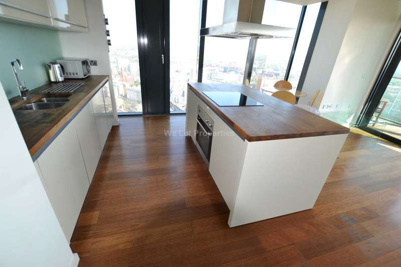 2 Bedrooms Apartment Flat for rent in Beetham Tower, Deansgate