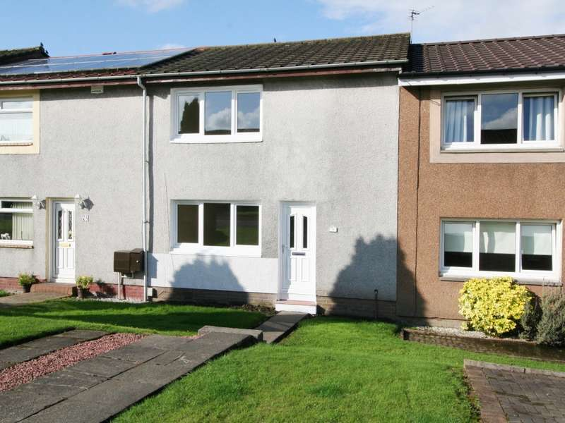 2 Bedrooms Terraced House for sale in 79 Kingsway, Kirkintilloch, Glasgow, G66 2UH