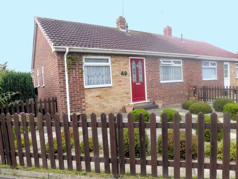 2 Bedrooms Bungalow for sale in Sextant Road, Hull, HU6 7BA