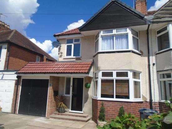 3 Bedrooms Semi Detached House for rent in Osmaston Road, Harborne, Birmingham, B17 0TH