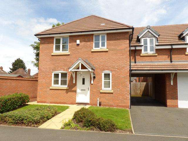 4 Bedrooms Semi Detached House for sale in Redmires Close,Rushall,Walsall