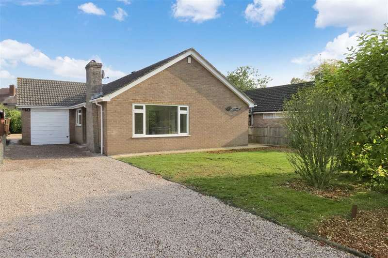 3 Bedrooms Detached Bungalow for sale in Wesley Close, Sleaford