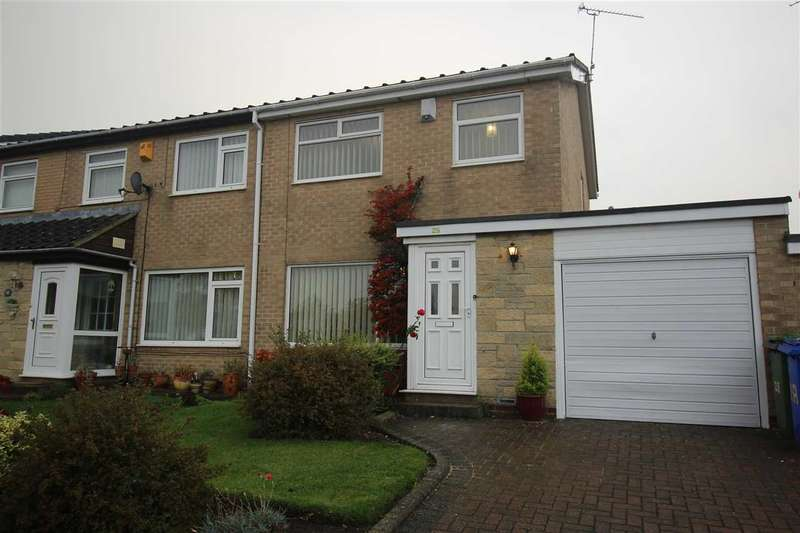 3 Bedrooms Semi Detached House for sale in Kettering Place, Eastfield Dale, Cramlington