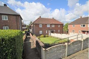 2 Bedrooms Semi Detached House for sale in Wellfield Road, Bentilee, Stoke-on-Trent, ST2 0DR