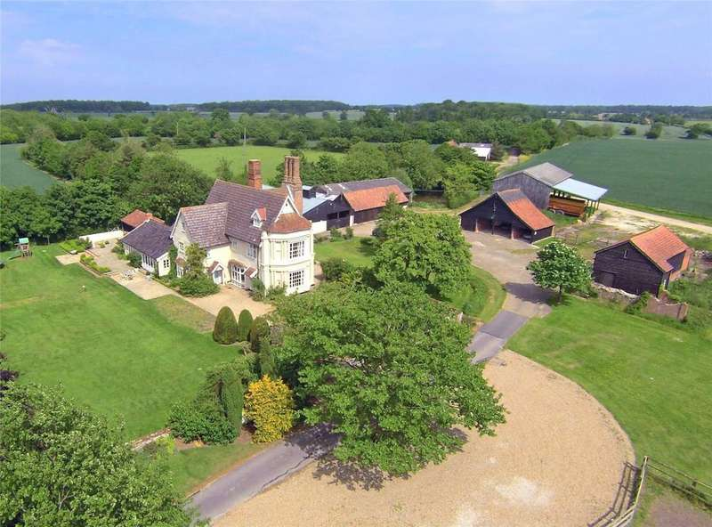 7 Bedrooms Detached House for sale in Kettleburgh, Nr Woodbridge, Suffolk, IP13