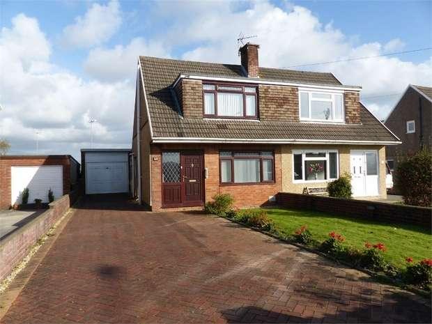 3 Bedrooms Semi Detached House for sale in Merlin Crescent, Bridgend, Bridgend, Mid Glamorgan