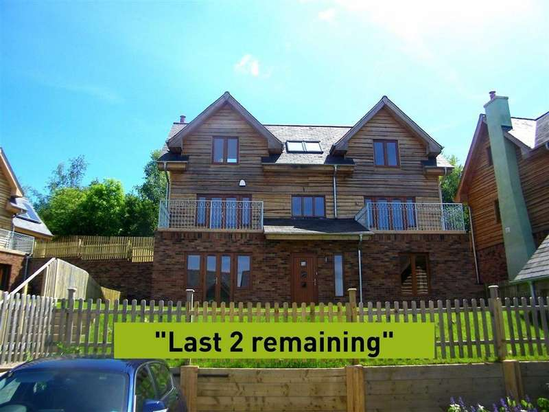 4 Bedrooms Detached House for sale in The Wintles, Bishops Castle, Shropshire, SY9