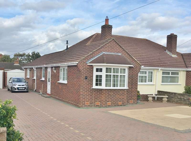 3 Bedrooms Semi Detached Bungalow for sale in Middlecroft Lane, Gosport