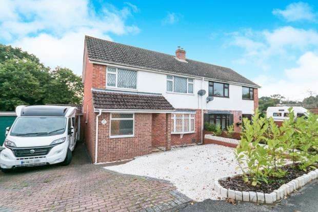 3 Bedrooms Semi Detached House for sale in Tadley, Hampshire, England